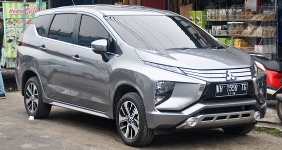 mitsubishi xpander car model