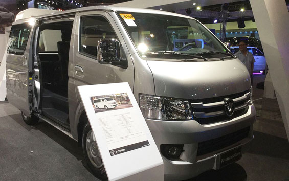 Foton View Transvan car model