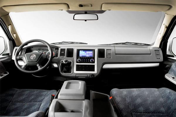 foton view traveller interior
