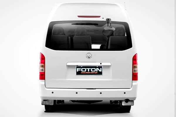 foton view traveller rear view