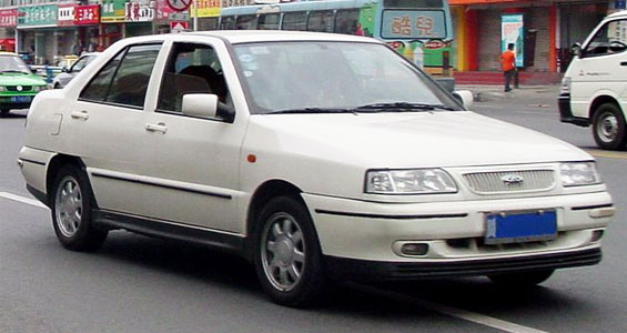 Chery A11 Car Model