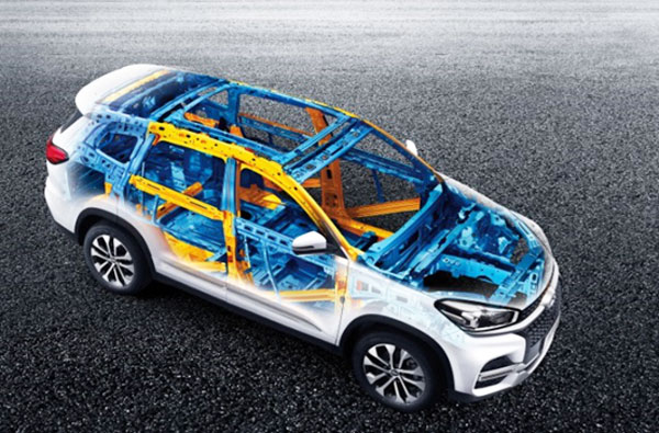 Chery Tiggo8 Safety design