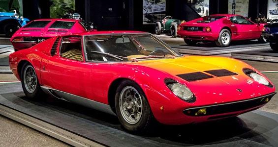Lamborghini Miura Car model