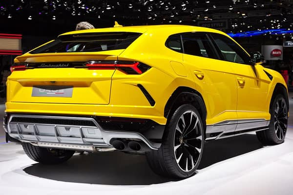 Lamborghini Urus Car Model rear