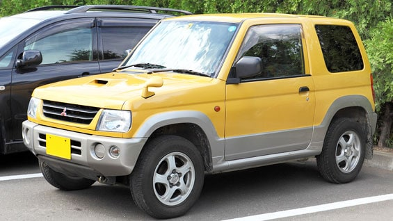 Mitsubishi Pajero Mini Car Model