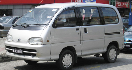 Perodua Rusa Car Model