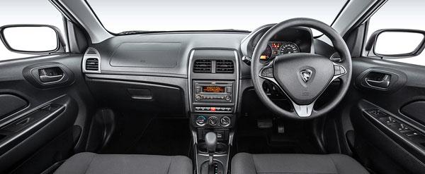 proton saga car model interior