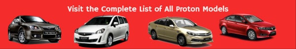 proton saga car models list