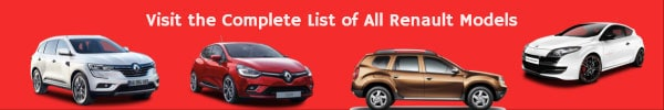 Complete list of all Renault models