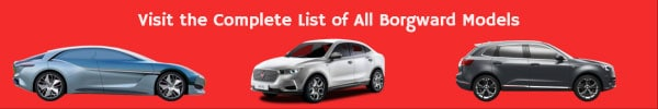Borgward car model list