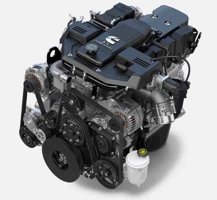 CUMMINS TURBO DIESEL I6 ENGINE (6.7L)