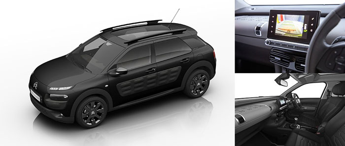Citroen C4 Cactus Car Model Comfort Production