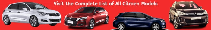 List of Citroen automobiles