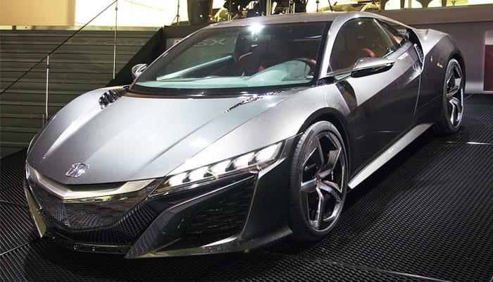 honda nsx car model review
