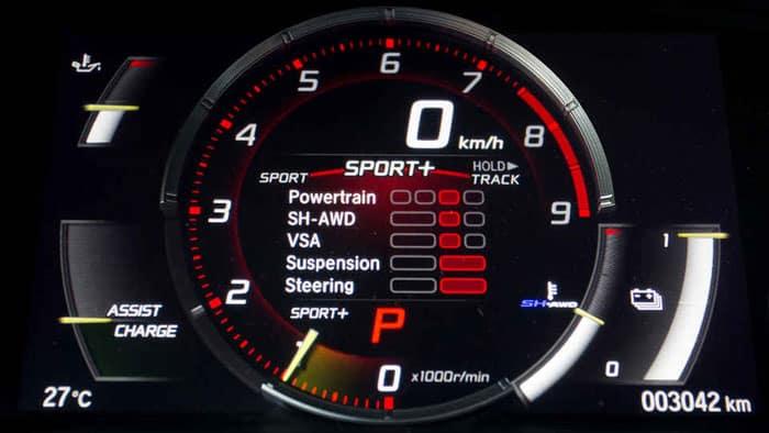 Honda NSX Speed