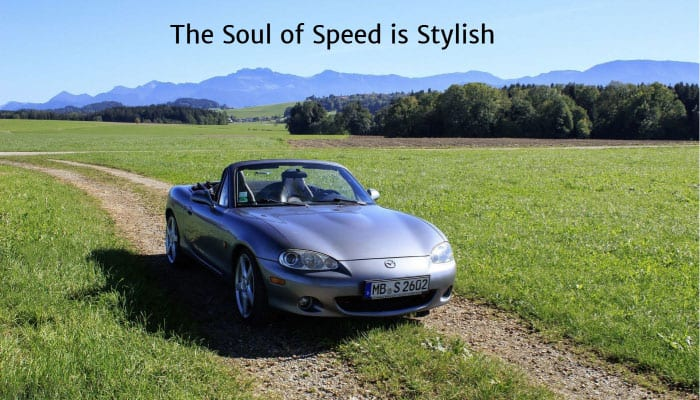 The Soul of Speed is Stylish