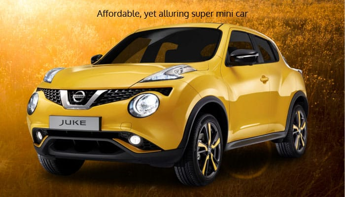 affordable yet alluring super mini car