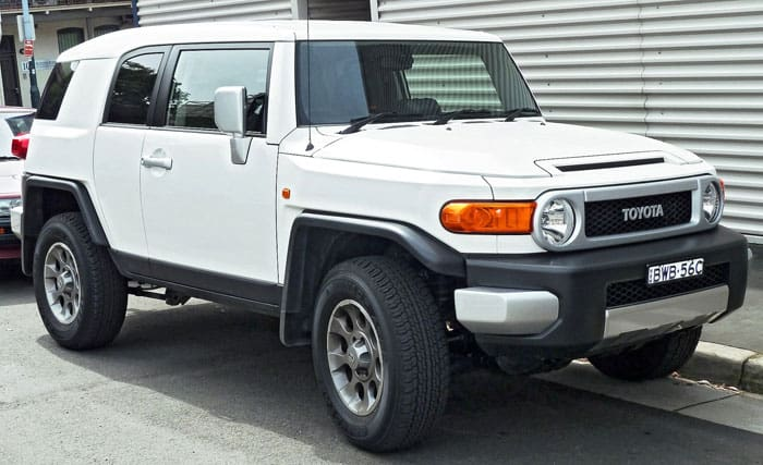 fj cruiser car model