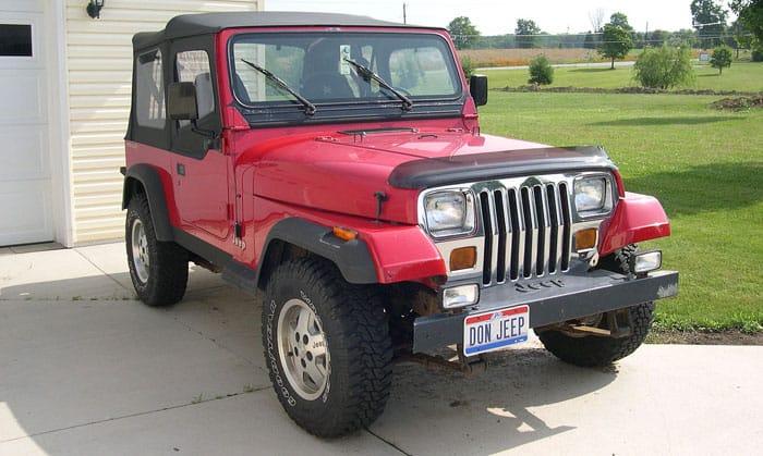 Jeep Wrangler YJ (1980)