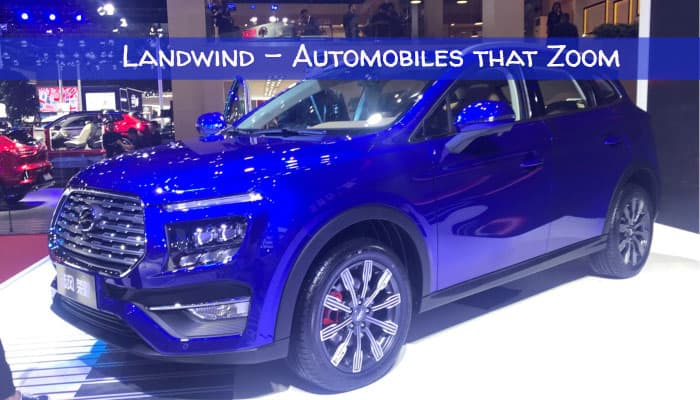 Landwind Automobiles that Zoom