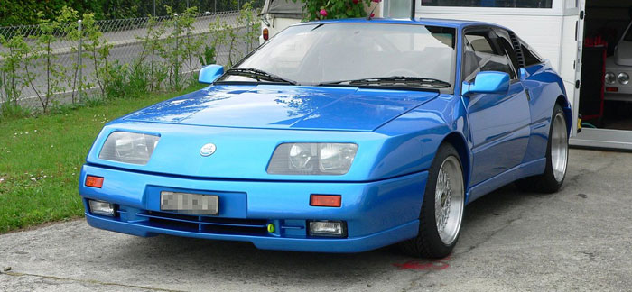 Alpine V6 Turbo Le Mans 1990