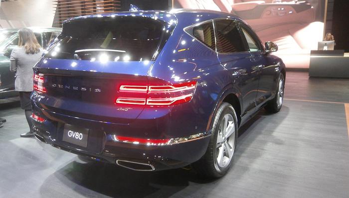 Genesis GV80 rear view