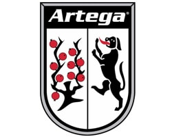 artega official logo of the company