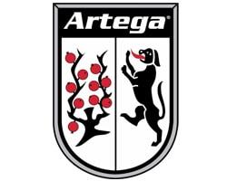 artega official logo of the company