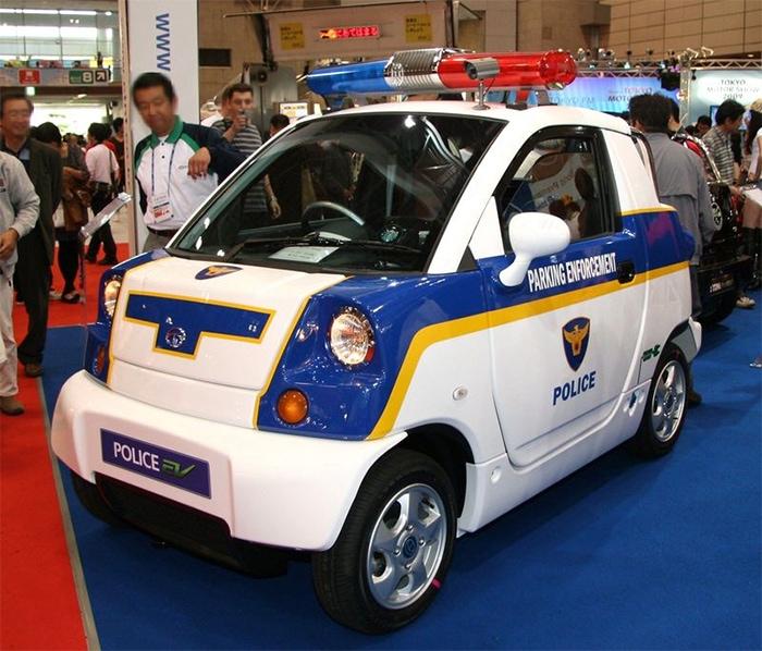 CT&T Police EV